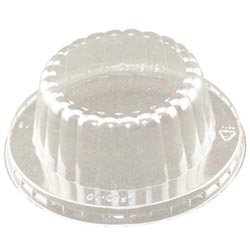 Clear Dome Lids -Food Containered Lids