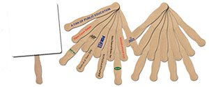 Wooden Fan Sticks