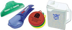 Pet Food Lids | Promotional Pet Food Scoops