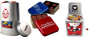 Custom Snack Tins and Corporate Food Gifts