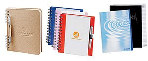 Recycled Spiral Notebooks | Custom Printed Notebooks