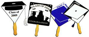 Personalized Graduation Fans | Customized Graduation Fans