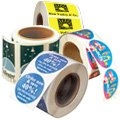 Custom Roll Labels | Printed Roll Stickers