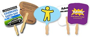 Single Sided Hand Fans | Econo Hand Fans