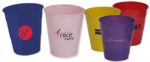 Color Plastic Cups | Engraved Plastic Cups
