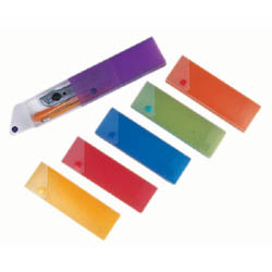 Plastic Pencil Boxes, with Drawer, Frosted