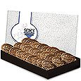 Chocolate Cookie Gift Boxes, 24 piece