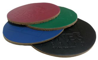 Full Grain Colored Leather Coasters