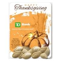 Clear Compostable Cellophane Pumpkin Seed Packets