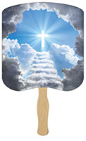 Stairway to Heaven Hand Fans