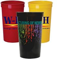 22 oz. Full Color Stadium Cups