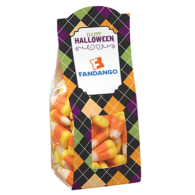 Halloween Themed Candy Bags - Candy Corn