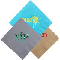 2-Ply Colored Dinner Napkins, 1/4 Fold