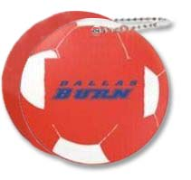 Boating Key Chains, Floating Soccer Ball