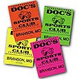20-Stick Match Books, Assorted (Neon Colors)