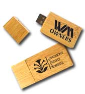 Bamboo USB Flash Drives, Eco-Friendly