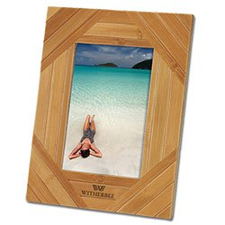 "Bamboo Photo Frames, Unite , 4"" x 6"""