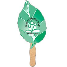 Leaf Shaped Hand Fans