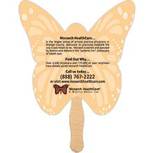 Butterfly Shaped Hand Fans