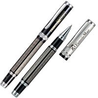 Executive Rollerball Pens, Romero Diamond Etched