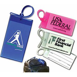 Luggage Tags, Business Card ID Tag, Sof-Touch™ Vinyl