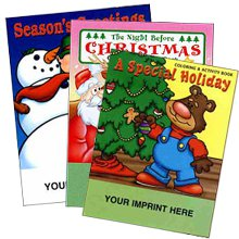 Holiday Coloring & Activity Books