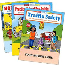 Safety Coloring Books