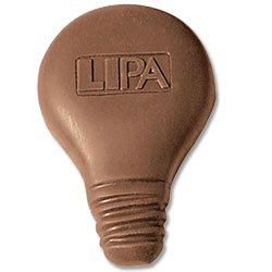 Chocolates, Custom Molded Light Bulb, 1 oz., Kosher