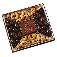 Confections, Window Gift Box w/ Custom Chocolate Centerpiece