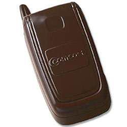 Chocolates, Custom Molded Flip Phone, 2 oz., Kosher