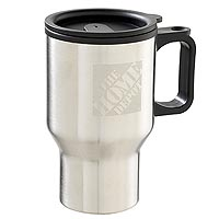 Stainless Travel Mug, MicroEtch™