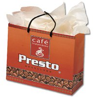 "Gloss Laminated Paper Bags, Design Center Eurototes 16"" x 12"""