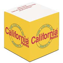 "Full Color 3"" x 3"" Recycled Note Cubes, 550 Sheet"