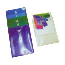 "Plastic Top Open Envelopes, Back View Pocket 9-5/8"" x 12-7/8"""