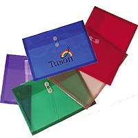 "Plastic Side Open Envelopes, String Tie Closure, Legal Size 10-1/4"" x 14-1/2"""