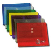 "Plastic Side Open Envelopes, String Tie Closure 12"" x 9-5/8"""