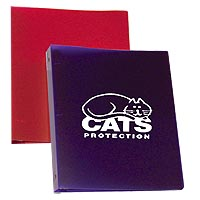 "1"" Poly Plastic 3 Ring Binders"