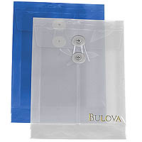 "Plastic Top Open Envelopes, String Tie Closure 6-1/4"" x 9-1/4"""