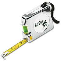 12' Chrome Tape Measures with Level