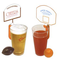 16 oz. Clear Plastic Hoop Mugs