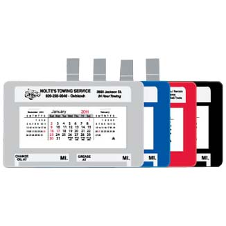 Visor Calendars, Car/Truck, 250 Series
