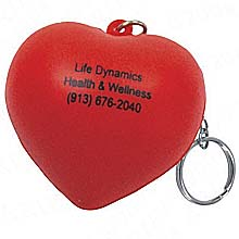 Key Chains, Heart Stress Ball