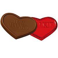 Kosher  1 oz. Chocolate Hearts