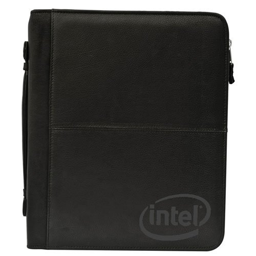 Zippered Leather Binders, Three Ring