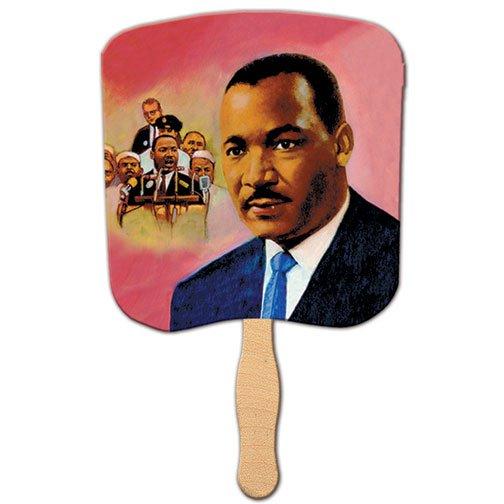 Dr Martin Luther King Jr Stock Design Church Hand Fans