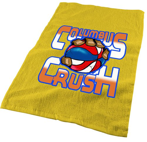 "Personalized Spirit Towels: 18"" Rally Towels With Full Color Imprint"