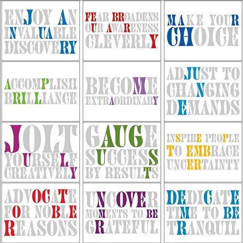 Calendar Inspirational 2016 : Motivational phrases calendars