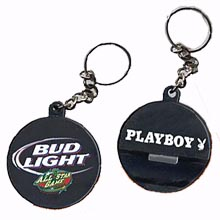 Bottle Openers, Hockey Puck Key Chains