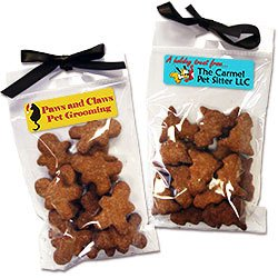 Homemade Dog Treats, Holiday Shapes, 100% All Natural
