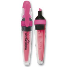 Fluorescent Pink Valve-System Highlighters